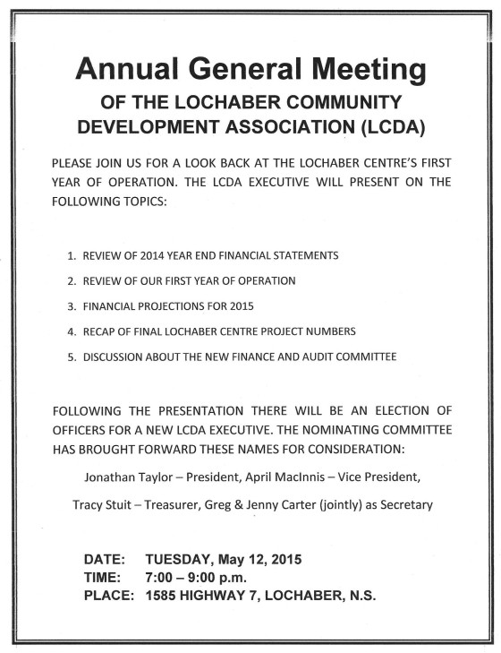 AGM & Election Notice
