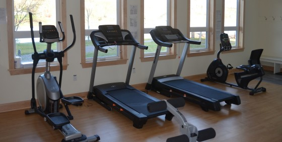 Fitness Equipment by Windows