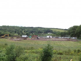 Construction site for the Lochaber Centre.