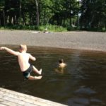 Lochaber - kids swimming