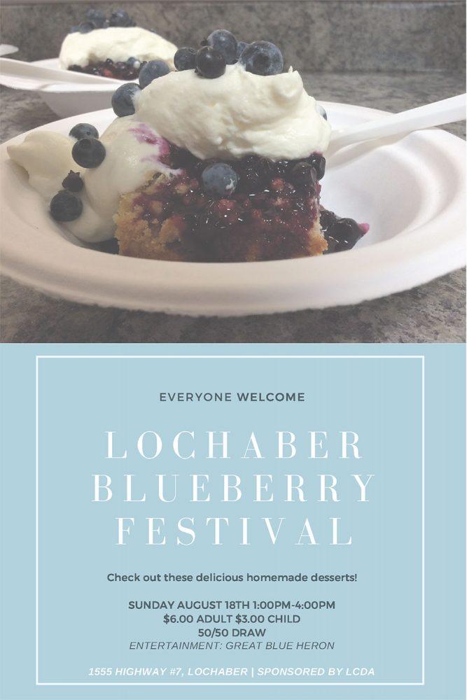 Lochaber - 2019 Blueberry Festival